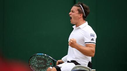 Reid secures Wimbledon wheelchair singles title