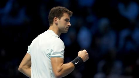 Grigor Dimitrov marks ATP Finals debut with win over Dominic Thiem