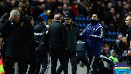 Poyet charged after Bruce bust-up
