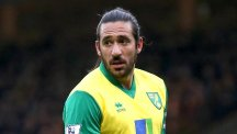 Jonas Gutierrez spent the second half of last season on loan at Norwich