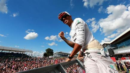 Lewis Hamilton is eyeing more success at Silverstone