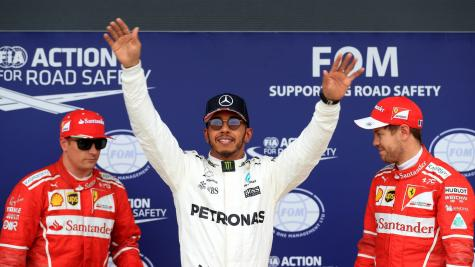 Hamilton revels in love of home crowd in brilliant qualifying display