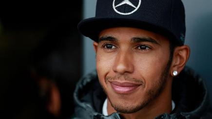 Lewis Hamilton, pictured, got the better of team-mate Nico Rosberg