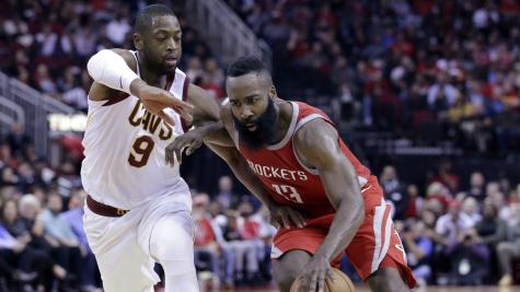 Harden outshines James as Rockets heap more misery on Cavaliers