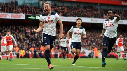 Harry Kane penalty earns Spurs a point in North London ...