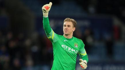 Joe Hart is enjoying a fine season for Manchester City