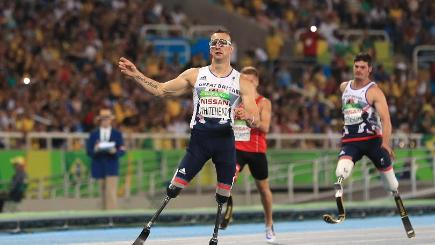 Five More Golds For Paralympics GB In Rio