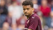 Osman Sow scored for Hearts