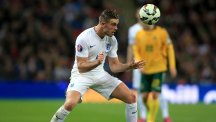 Jordan Henderson has been on the losing side against Italy three times in as many years