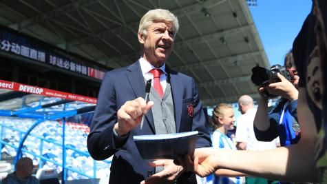 'Herbert Chapman smiled at me' - Wenger savours farewell match at Huddersfield