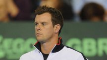 Great Britain's captain Leon Smith has an excellent record in the Davis Cup on home soil