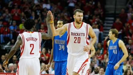 Houston Rockets baller Donatas Motiejunas