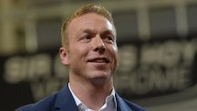 Sir Chris Hoy, pictured, is backing Sir Bradley Wiggins to add to his cycling CV on the road to Rio