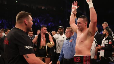 Hughie Fury falls short as Joseph Parker retains WBO heavyweight title on points