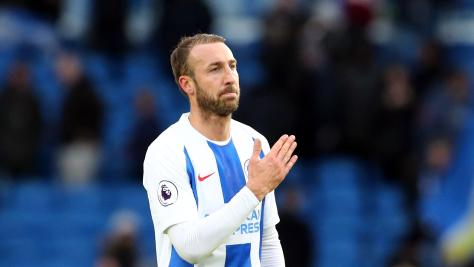 Brighton blow Palace away after Shane Duffy's red