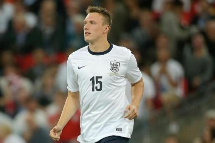 Phil Jones, pictured, is disappointed with Stuart Pearce's comments