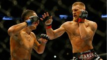 Impressive start: Conor McGregor has looked outstanding in his UFC career to date