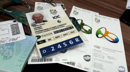 European Olympic official arrested over illegal Rio tickets