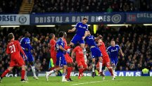 Branislav Ivanovic heads home the winner