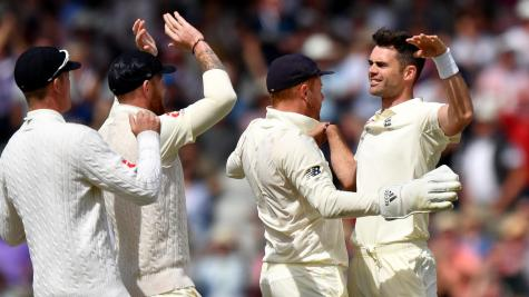 James Anderson dazzles as England dominate at Old Trafford