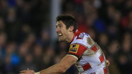 Gloucester's James Hook kicked five penalties against Bath.
