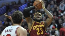 LeBron James returned to sharp-shooting ways (AP)