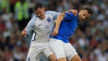 Former England defender Jamie Carragher, left, claims some of the international team's players are too soft