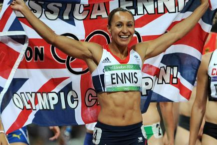 Jessica Ennis-Hill dazzled at London 2012 in the heptathlon