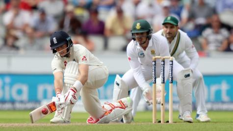 Joe Root reaches runs landmark and shows the way for England's toiling new boys