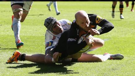 Joe Simpson try