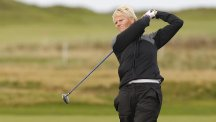 Trish Johnson remained on target for Scottish Open glory