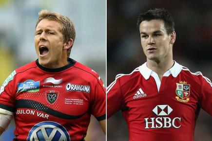 Lions legends Wilkinson and Sexton face-off in the Top 14. Toulon vs. Racing Metro, ESPN, 7.45-9.45pm