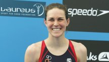 Gwen Jorgensen is the world triathlon champion