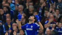 Chelsea striker Diego Costa scored against West Brom on Saturday
