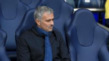Chelsea manager Jose Mourinho, pictured, says there is no issue between him and striker Diego Costa