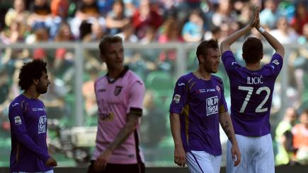 Josip Ilicic scores against his former club Palermo