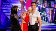 Judy Murray has had trouble finding her feet on Strictly
