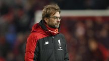 Liverpool manager Jurgen Klopp hopes to be back at work on Monday after an appendectomy