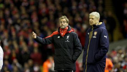 Arsenal short at the back for Liverpool opener