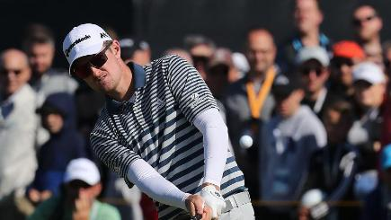 Louis Oosthuizen makes an ace in British Open first round