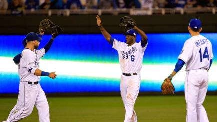 Kansas City Royals win game two of the World Series