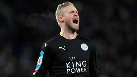 Kasper Schmeichel reveals relief after reaching Champions League quarter-finals
