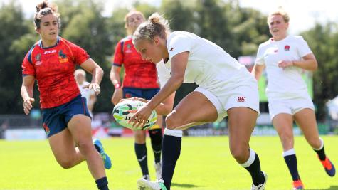 Kay Wilson scores four tries as England Women cruise to opening win