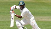 Imrul Kayes, pictured, and Mominul Haque impressed for Bangladesh