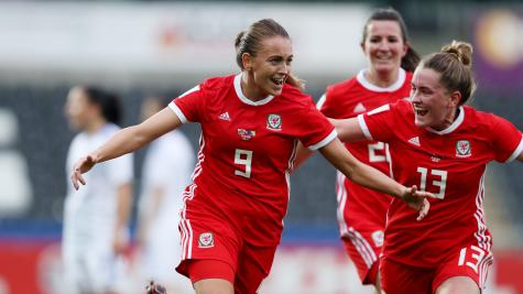 Kayleigh Green strike edges Wales past Bosnia