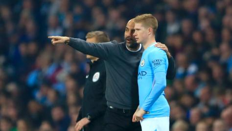 Kevin De Bruyne keen to win more trophies under Pep Guardiola at City