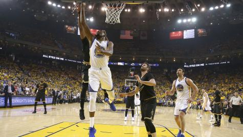 Kevin Durant stars as Golden State Warriors go 2-0 up on Cleveland Cavaliers