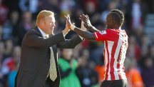 Southampton manager Ronald Koeman, left, believes his side deserved their win