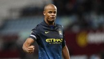Manchester City's Vincent Kompany was unhappy with the crowd situation in Russia