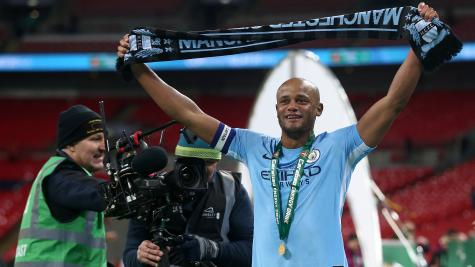 Kompany insists Man City not getting carried away after cup win